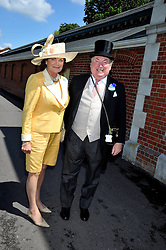 ANTHONY & ANTOINETTE OPPENHEIMER at at the first day of the 2009 Royal Ascot racing festival on 16th June 2009.