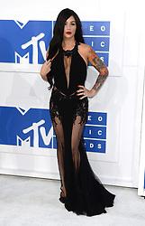 Jenni J-Woww Farley arriving at the MTV Video Music Awards 2016, Madison Square Garden, New York City.