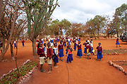 A school in rural Tanzania