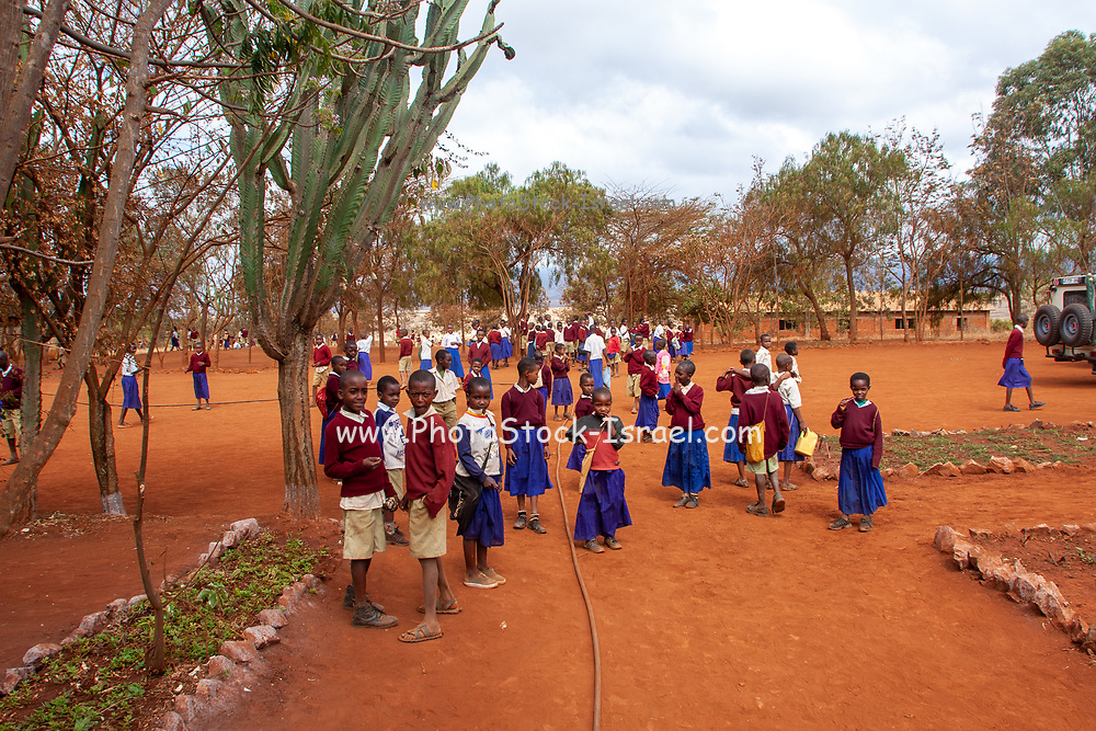 A school in rural Tanzania