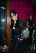 NANCY DELL D'OLIO, theby's Frieze  week party. New Bond St. London. 15 October 2014.