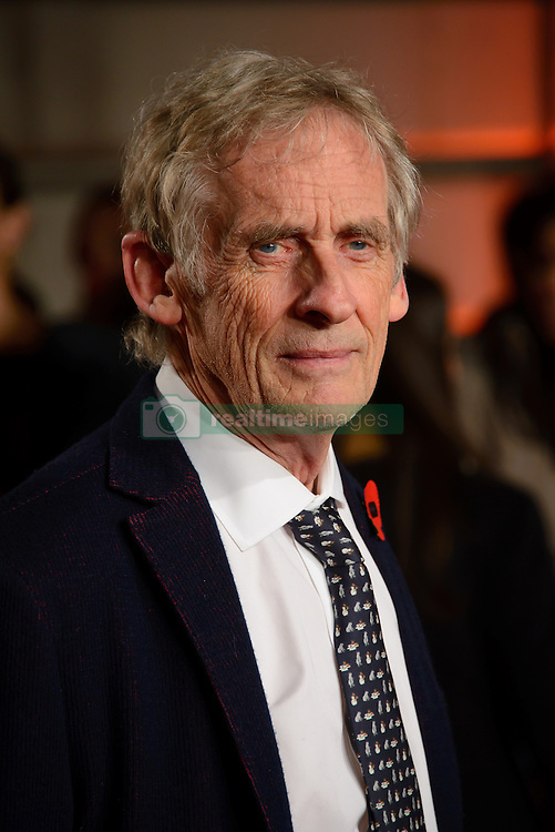 November 3, 2016 - London, United Kingdom - Image ©Licensed to i-Images Picture Agency. 03/11/2016. London, United Kingdom. Roger Spottiswoode attends the World Premiere of A Street Cat Named Bob. Picture by Chris Joseph / i-Images (Credit Image: © Chris Joseph/i-Images via ZUMA Wire)