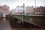 Old Dublin Amature Photos 1999 WITH, Grattan Bridge. Ormond Quay, Caple  St, Old amateur photos of Dublin streets churches, cars, lanes, roads, shops schools, hospitals