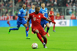 20.02.2016, Allianz Arena, Muenchen, GER, 1. FBL, FC Bayern Muenchen vs SV Darmstadt 98, 22. Runde, im Bild Douglas Costa (FC Bayern Muenchen) // during the German Bundesliga 22nd round match between FC Bayern Munich and SV Darmstadt 98 at the Allianz Arena in Muenchen, Germany on 2016/02/20. EXPA Pictures © 2016, PhotoCredit: EXPA/ Eibner-Pressefoto/ Stuetzle<br /> <br /> *****ATTENTION - OUT of GER*****