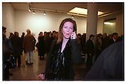 Melissa Knatchbull, Product: Richard Hamilton private view, Gagosian Gallery. London. 13 January 2003.  © Copyright Photograph by Dafydd Jones 66 Stockwell Park Rd. London SW9 0DA Tel 020 7733 0108 www.dafjones.com