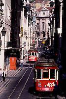 Portugal - Lisbonne - Les tramways