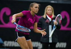 November 8, 2018 - Prague, Czech Republic - Sofia Kenin of the United States during practice ahead of the 2018 Fed Cup Final between the Czech Republic and the United States of America (Credit Image: © AFP7 via ZUMA Wire)