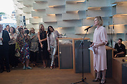 ANYA GALLACHIO; JESSICA SIMMONS; JACKIE ST. CLAIR; JULIA PEYTON-JONES, Party  to celebrate Julia Peyton-Jones's  25 years at the Serpentine. London. 20 June 2016