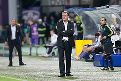 Ante Cacic, head coach of Dinamo Zagreb during Play-offs for Champions League between NK Maribor (Slovenia) and GNK Dinamo Zagreb (Croatia), on August 28, 2012, in Maribor, Slovenia. (Photo by Matic Klansek Velej / Sportida.com)