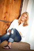 Beautiful Blonde Teenage Girl