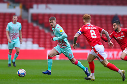 Jay Fulton of Swansea City is closed down by Jack Colback of Nottingham Forest  - Mandatory by-line: Nick Browning/JMP - 29/11/2020 - FOOTBALL - The City Ground - Nottingham, England - Nottingham Forest v Swansea City - Sky Bet Championship