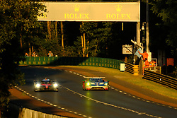June 18, 2017 - Le Mans, Sarthe, France - FORD CHIP GANASSI TEAM USA MICHELIN FORD GT.RYAN BRISCOE (AUS) in action during the race of the 24 hours of Le Mans on the Le Mans Circuit - France (Credit Image: © Pierre Stevenin via ZUMA Wire)
