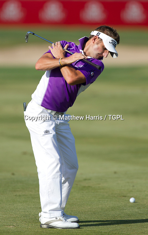 Jbe KRUGER (RSA) during fourth round,Abu Dhabi HSBC Championship 2013,Abu Dhabi Golf Club,Abu Dhabi,20th January 2013.