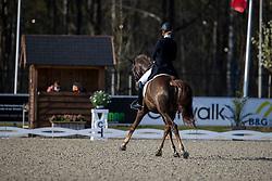 Nekeman Jeanine, NED, Ferrari<br /> CDI 3* Opglabeek<br /> © Hippo Foto - Dirk Caremans<br />  23/04/2021