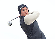 John Ross Galbraith (Whitehead) on the 16th tee during Round 3 of the East of Ireland Amateur Open Championship at Co. Louth Golf Club, Baltray on Monday 1st June 2015.<br /> Picture:  Thos Caffrey / www.golffile.ie