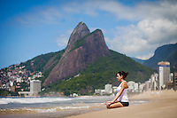 Joana Borges Guratzsch at Ipanema Beach, Rio de Janeiro