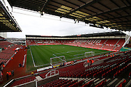 a General view inside the stadium. Barclays Premier league match, Stoke city v Manchester city at the Britannia Stadium in Stoke on Trent, Staffs on Saturday 5th December 2015.<br /> pic by Chris Stading, Andrew Orchard sports photography.