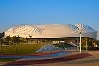 Al Wakrah ,Qatar -December 25 , 2019 : Al Janoub stadium  build specially for the 2022 soccer world cup