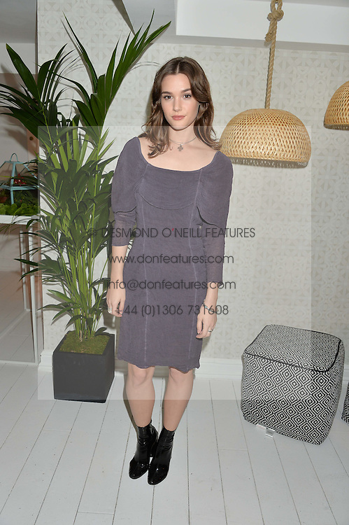 SAI BENNETT at a dinner hosted by Autograph Collection Hotels held at 19 Greek Street, Soho, London on 12th October 2016.