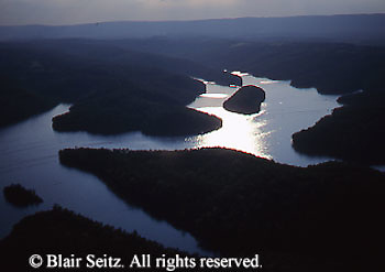 Southwest PA, Aerial, Raystown Lake, Bedford Co., Pennsylvania