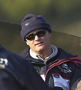 Peter Spurrier Sports  Photo<br />email pictures@rowingpics.com<br />Tel 44 (0) 7973 819 551<br /><br />Photo Peter Spurrier<br />29/03/2002<br />2002 Varsity Boat Race-Tideway week<br />Fri training session<br />Steve Royal Oxford Director of Coaching 20020327 University Boat Race, [Varsity],  Tideway Week. Putney. London