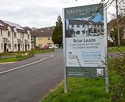Greensquare Homes village Briar Leaze housing development, Compton Bassett, Wiltshire, England, UK