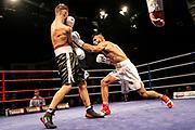 Boxen: Boxen im Norden, Hamburg, 17.02.2019<br /> Deutsche Meisterschaft: Shokran Parwani - Cem Kurnazcan<br /> © Torsten Helmke