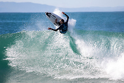 Mikey Wright (AUS) is eliminated from the 2018 Corona Open J-Bay with an equal 13th finish after placing second in Heat 11 of Round 3 at Supertubes, Jeffreys Bay, South Africa.