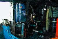 Indonesia, Java, Jakarta. Bugis Pinisi ship generator. Sunda Kelapa.