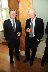 A party to promote the exclusive Puntacana Resort & Club - the Caribbean's Premier Golf & Beach Resort Destination, was held at Spencer House, London on 13th May 2010.<br /> <br /> Picture shows:-Left to right, VISCOUNT ASTOR and LORD ROTHSCHILD