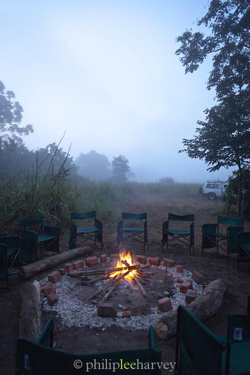 Camp Fire, Lekoli River.