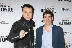 Curzon Bloomsbury, London, December 14th 2016. Celebrities attend the launch of Amazon Prime's European premiere for Season 2 of The Man In The High Castle. PICTURED: Rupert Evans, Jay Marime