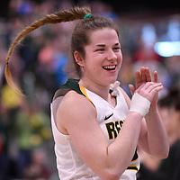 U Sports 2018 Women's National Basketball Championship Semi-Final on March  10 at the Centre for Kinesiology, Health and Sport Regina,Saskatchewan. Credit: Arthur Ward/Arthur Images