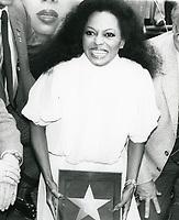 Diana Ross' Walk of Fame ceremony