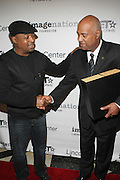 l to r: Chuck D and Noel Hankin at The ImageNation celebration for the 20th Anniversary of ' Do the Right Thing' held Lincoln Center Walter Reade Theater on February 26, 2009 in New York City. ..Founded in 1997 by Moikgantsi Kgama, who shares executive duties with her husband, Event Producer Gregory Gates, ImageNation distinguishes itself by screening works that highlight and empower people from the African Diaspora.