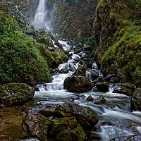 The Mae Surin waterfall at the Mae Surin National Park in Mae Hong Son, Thailand.