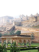 Pavilion below the Amber Palace, Amer, Rajasthan