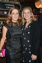 Left to right, NATALIE PINKHAM and HOLLY BRANSON at a party to celebrate the opening of Cahoots - a new nightclub from the Inception Group at 13 Kingly Court, Soho, London on 26th February 2015.