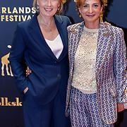 NLD/Utrecht/20180927 - Openingsavond Nederlands Film Festival Utrecht, Ariane Schluter (L) met