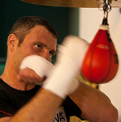 23.08.2011, Stanglwirt, Going, AUT, Vitali Klitschko, Training, im Bild Vitali Klitschko am Panchen // during a trainingssession at Hotel Stanglwirt in Going, Austria on 23/8/2011. EXPA Pictures © 2010, PhotoCredit: EXPA/ J. Groder