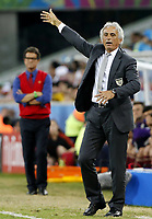 Fotball<br /> VM 2014<br /> Russland v Algerie<br /> 26.06.014<br /> Foto: imago/Digitalsport<br /> NORWAY ONLY<br /> <br /> Algeria s coach Vahid Halilhodzic reacts during a Group H match between Algeria and Russia of 2014 FIFA World Cup at the Arena da Baixada Stadium in Curitiba, Brazil, June 26, 2014.