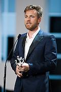 Award to Ewan McGregor during the  ceremony of the 60th San Sebastian International film Festival