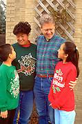 Family parents age 37 children age 10 and 8 Asian mother Caucasian dad.  WesternSprings Illinois USA