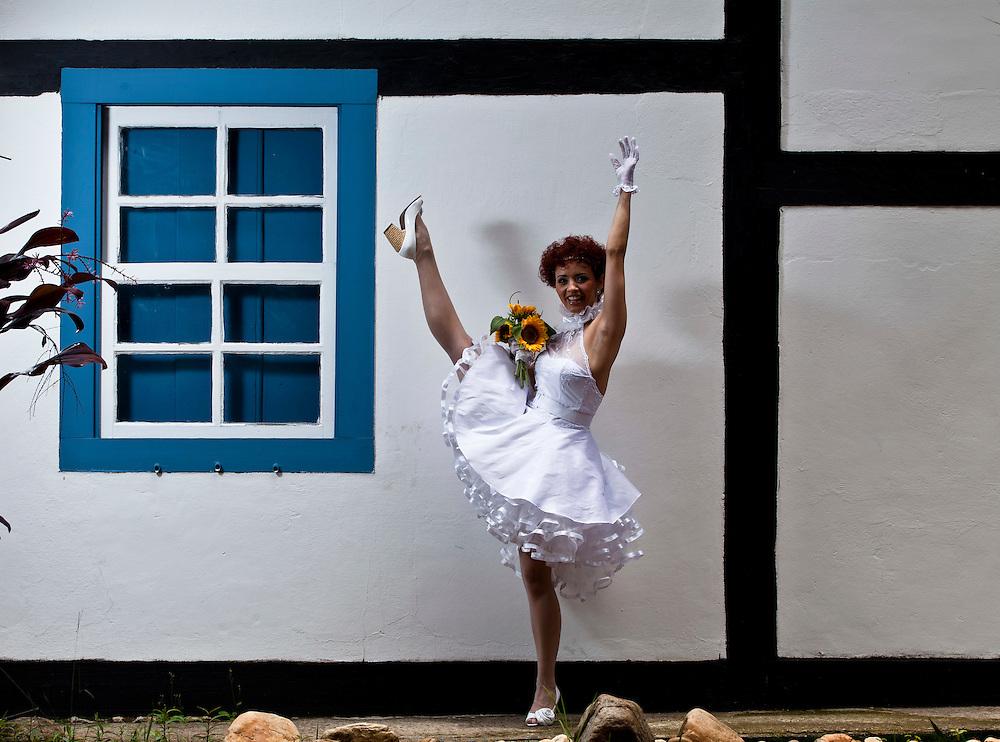Belo Horizonte, 14 de Dezembro de 2010..Album de noiva de Danny Maia..Foto: Leo Drumond / NITRO