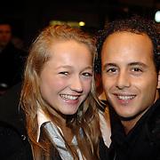 NLD/Amsterdam/20061116 - Premiere James Bond film Casino Royale, Caroline Spoor en partner Jon Karthaus