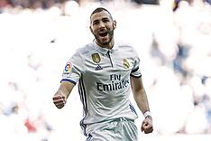 Real Madrid vs Deportivo Alaves - 2 April 2017