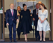 London, United Kingdom - 31 January 2019<br /> Meghan, Duchess of Sussex, Meghan Markle visiting City, University of London in her role as Patron of The Association of Commonwealth Universities, ( The ACU ). City, University of London, Northampton Square, Clerkenwell, London, UK. Pictured with Meghan is President of City, University of London, Professor Sir Paul Curran.<br /> (photo by: EQUINOXFEATURES.COM)<br /> Picture Data:<br /> Photographer: Equinox Features<br /> Copyright: ©2019 Equinox Licensing Ltd. +448700 780000<br /> Contact: Equinox Features<br /> Date Taken: 20190131<br /> Time Taken: 15014635<br /> www.newspics.com