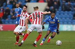 Callum Harriott of Colchester United runs with the ball - Mandatory by-line: Arron Gent/JMP - 29/02/2020 - FOOTBALL - JobServe Community Stadium - Colchester, England - Colchester United v Cheltenham Town - Sky Bet League Two