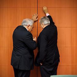 Dominique Strauss-Kahn and Jean-Claude Trichet 20101206