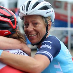 FRAUENFELD (SUI) JUNE 6<br />Final stage Tour de Suisse women <br />Trek-Segafredo celibrating